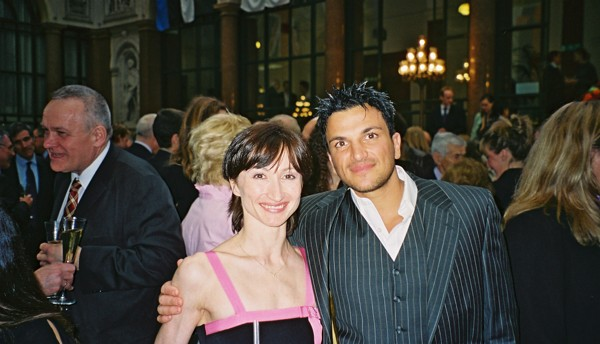 Daria with Peter Andre