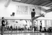 Denys Cherevychko solos at the International Ballet Masterclasses, Prague on August 01 2020. Photo: Arnaud Stephenson