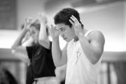 Daria Klimentová teaching class at the International Ballet Masterclasses, Prague on August 03 2020. Photo: Arnaud Stephenson