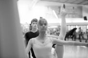 Daria Klimentová teaching class at the International Ballet Masterclasses, Prague on August 08 2020. Photo: Arnaud Stephenson