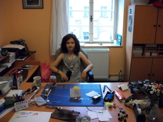 sabina-in-charge-in-her-office