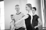 Christopher Hampson teaching class at the International Ballet Masterclasses, Prague on August 08 2019. Photo: Arnaud Stephenson