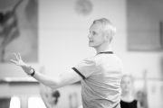 Christopher Hampson teaching class at the International Ballet Masterclasses, Prague on August 08 2019. Photo: Arnaud Stephenson