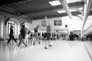 Christopher Hampson teaching contemporary at the International Ballet Masterclasses, Prague on August 07 2019. Photo: Arnaud Stephenson