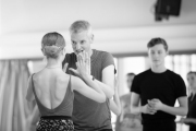 Christopher Hampson teaching contemporary at the International Ballet Masterclasses, Prague on August 07 2019. Photo: Arnaud Stephenson