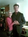 Daria with Pierce Brosnan