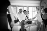 Denys Cherevychko teaching class at the International Ballet Masterclasses, Prague on July 29 2020. Photo: Arnaud Stephenson