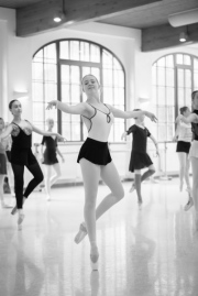 Isabelle Ciaravola teaching girls solo at the International Ballet Masterclasses, Prague on August 05 2019. Photo: Arnaud Stephenson