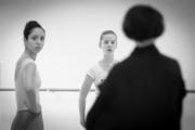Isabelle Ciaravola teaching girls solo at the International Ballet Masterclasses, Prague on August 05 2019. Photo: Arnaud Stephenson