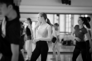 Jan Kodet teaching contemporary  at the International Ballet Masterclasses, Prague on August 01 2019. Photo: Arnaud Stephenson