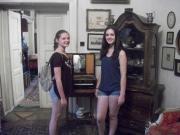 Sabina and Emily