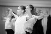 Nataša Novotná teaching contemporary at the International Ballet Masterclasses, Prague on August 05 2019. Photo: Arnaud Stephenson