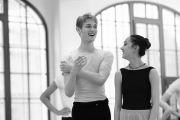 Daria Klimentová & Tomas Solymosi teaching pas de deux at the International Ballet Masterclasses, Prague on August 02 2019. Photo: Arnaud Stephenson