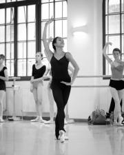 Tatiana Melnik teaching girls solo at the International Ballet Masterclasses, Prague on August 01 2019. Photo: Arnaud Stephenson