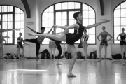 Thomas Edur teaching class at the International Ballet Masterclasses, Prague on August 02 2019. Photo: Amber Hunt