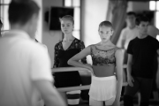 Thomas Edur teaching class at the International Ballet Masterclasses, Prague on August 01 2019. Photo: Arnaud Stephenson