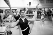 Thomas Edur teaching class at the International Ballet Masterclasses, Prague on August 01 2019. Photo: Arnaud Stephenson