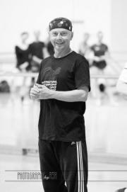 Vaclac Janecek rep teaching Rep during the International Ballet Masterclasses at the Czech National Ballet Studios in Prague on August 04 2018. Photo: Arnaud Stephenson