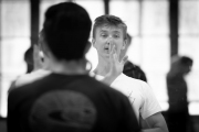 Vadim Muntagirov teaching boys solo at the International Ballet Masterclasses, Prague on August 05 2019. Photo: Arnaud Stephenson