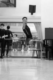 Vladimir Shishov teaching boys solo at the International Ballet Masterclasses, Prague on August 01 2019. Photo: Arnaud Stephenson
