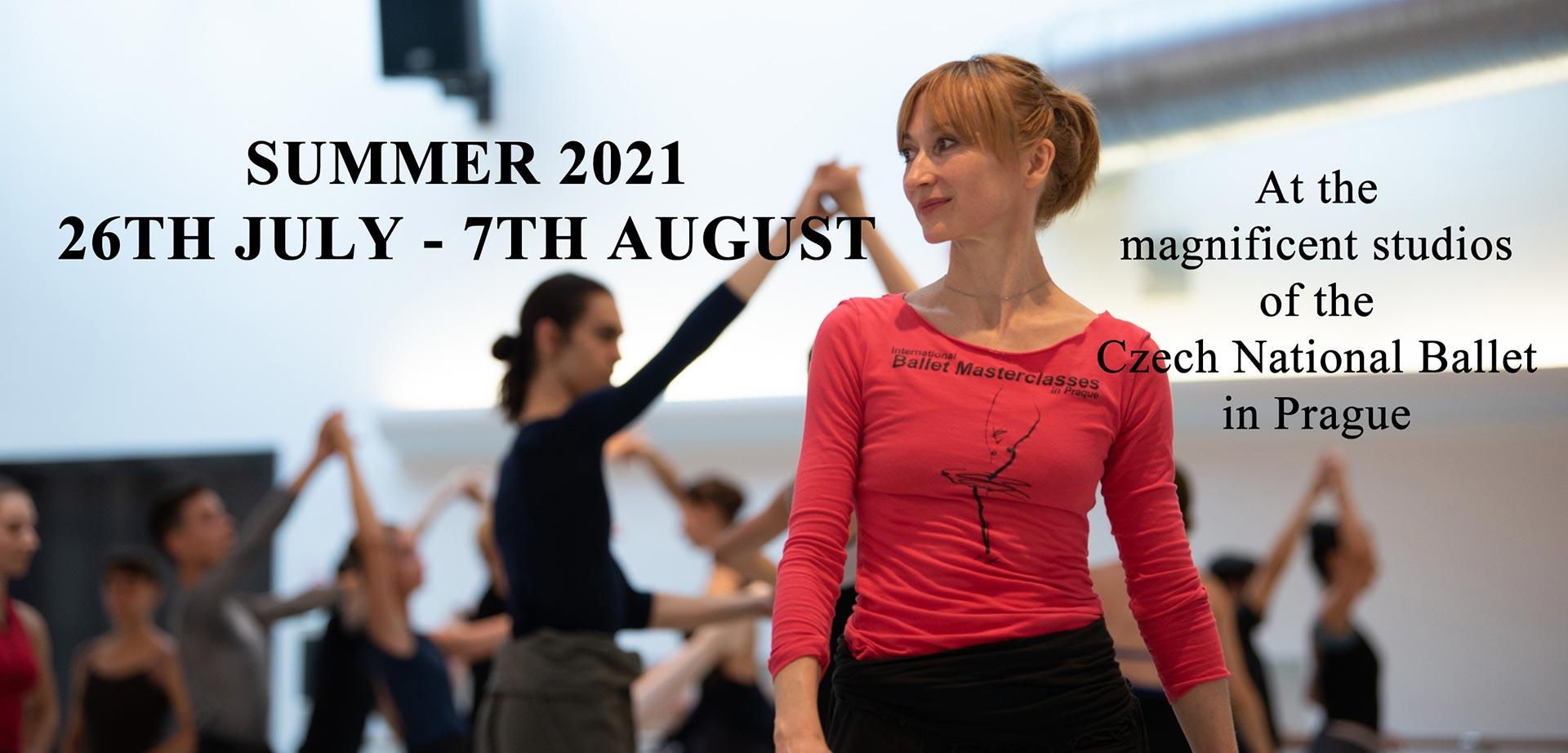 ballet classes in Prague Europe